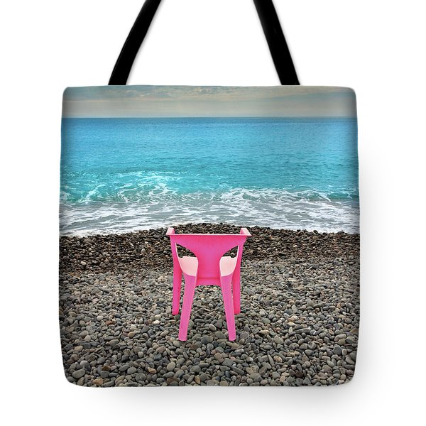 The Pink Chair Tote Bag