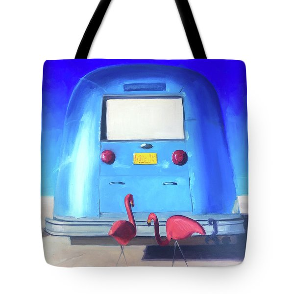 The Pink Hitchhikers Tote Bag