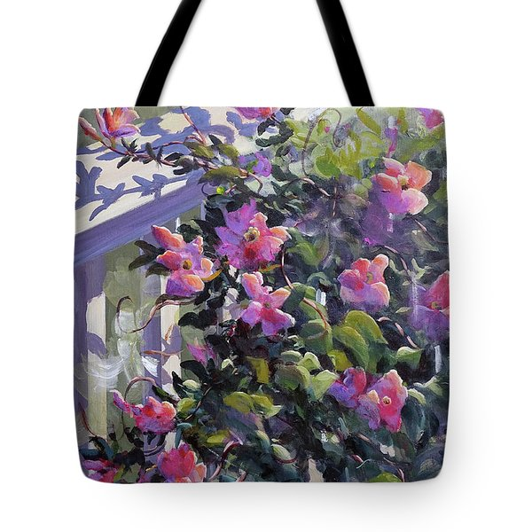 The Pink Morning Tote Bag