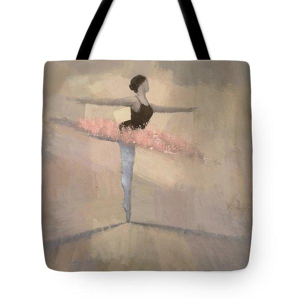 The Pink Tutu Tote Bag