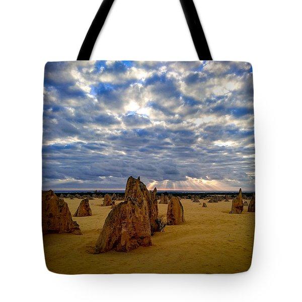 The Pinnacles Sunset Tote Bag