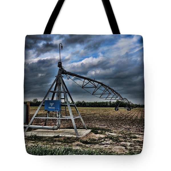 The Pipe Line Tote Bag