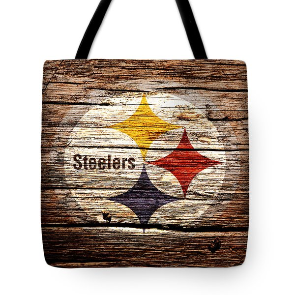 The Pittsburgh Steelers 2d Tote Bag