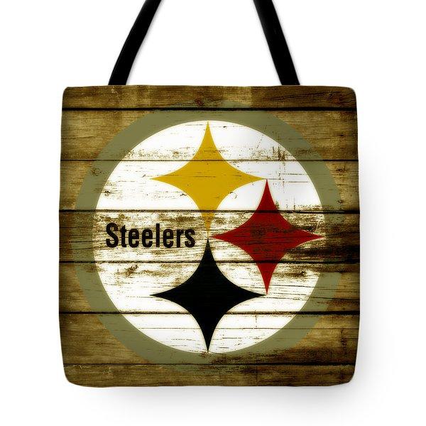 The Pittsburgh Steelers W4 Tote Bag