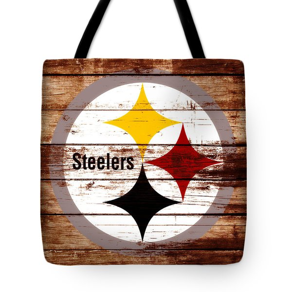 The Pittsburgh Steelers W5 Tote Bag