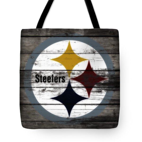 The Pittsburgh Steelers W6 Tote Bag
