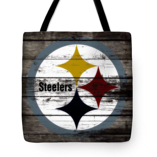 The Pittsburgh Steelers W7 Tote Bag