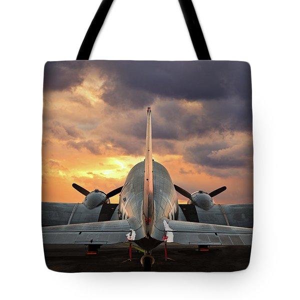 American Aviator Tote Bag
