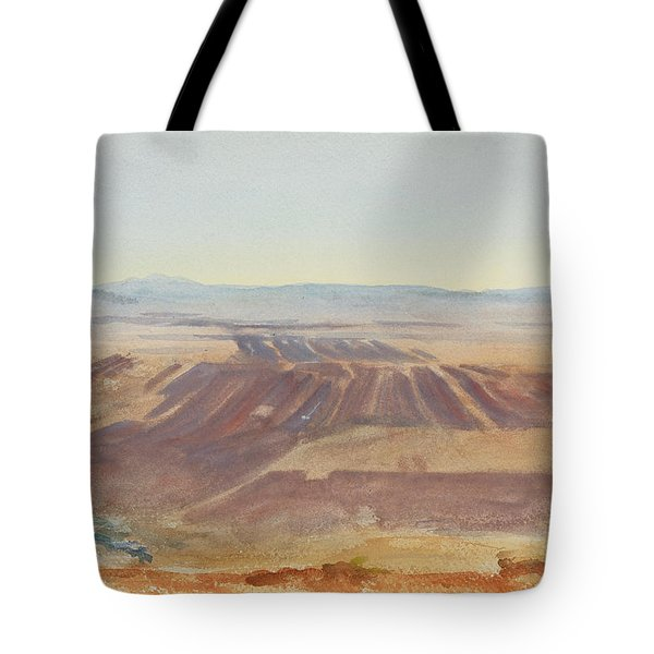 The Plains Of Nazareth Tote Bag