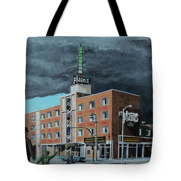 The Plains Tote Bag