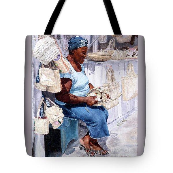 The Plait Lady Tote Bag