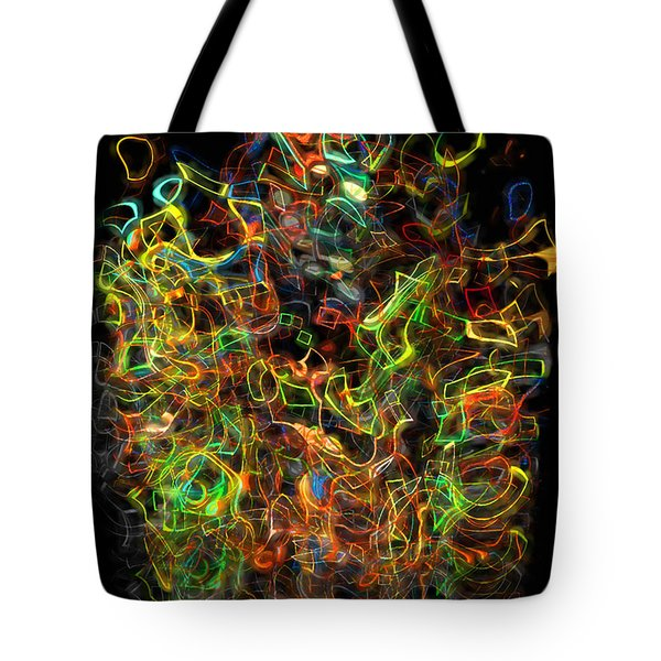 The Play Of Light And Color Tote Bag