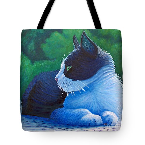 The Pleasure Of Her Company Tote Bag by Brian  Commerford