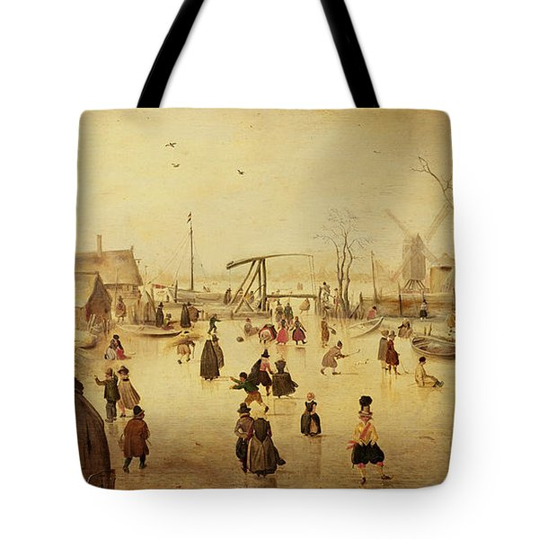 The Pleasures Of Winter Tote Bag
