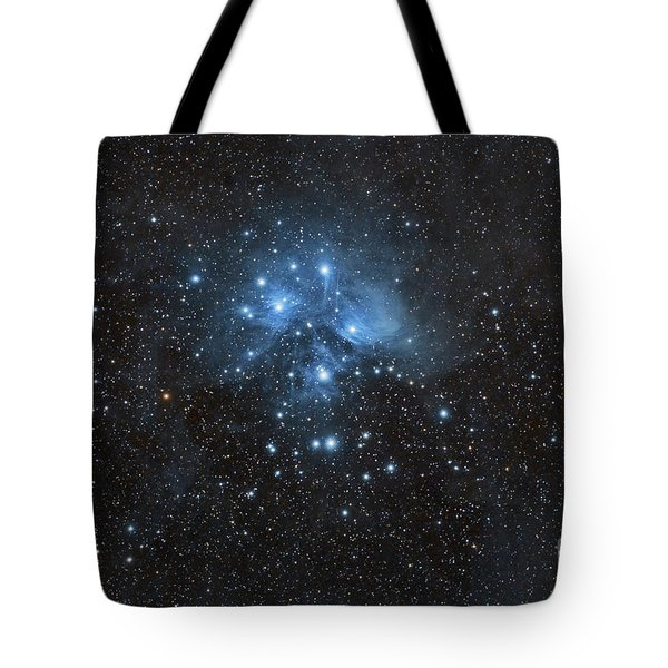 The Pleiades, Also Known As The Seven Tote Bag by John Davis