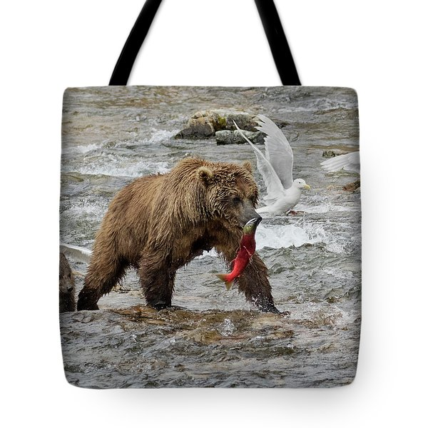 The Plight Of The Sockeye Tote Bag