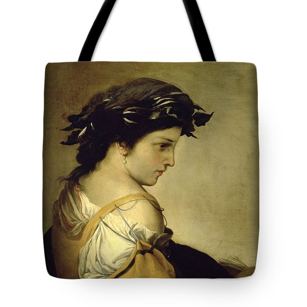 The Poem Tote Bag by Salvator Rosa