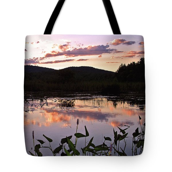 Tote Bag featuring the photograph The Poetry Of Twilight by Lynda Lehmann