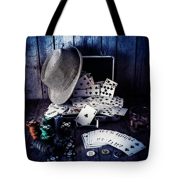 The Poker Ace Tote Bag