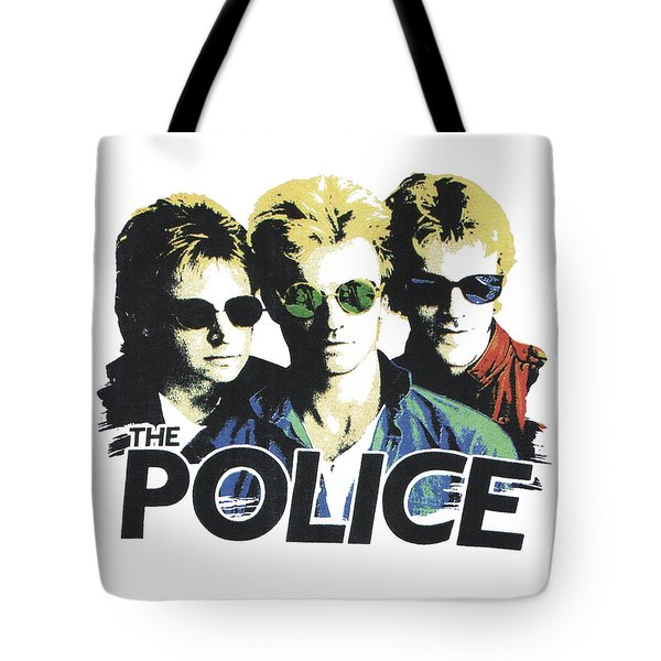The Police Tote Bag by Gina Dsgn