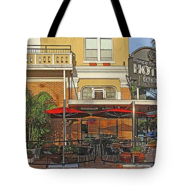 The Ponce De Leon Hotel Tote Bag