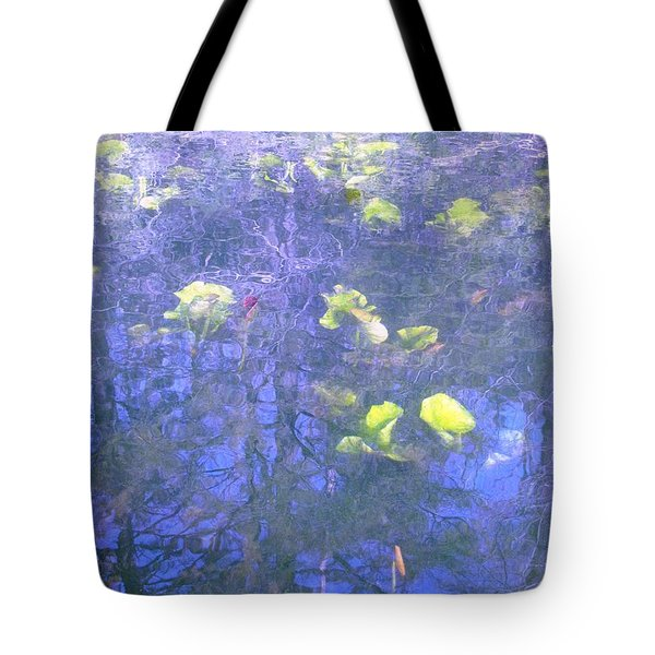 Tote Bag featuring the photograph The Pond 1 by Melissa Stoudt