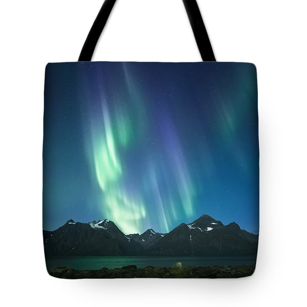 The Pond And The Fjord Tote Bag