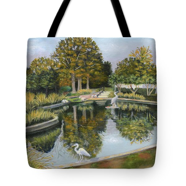 The Pond At Maple Grove Tote Bag