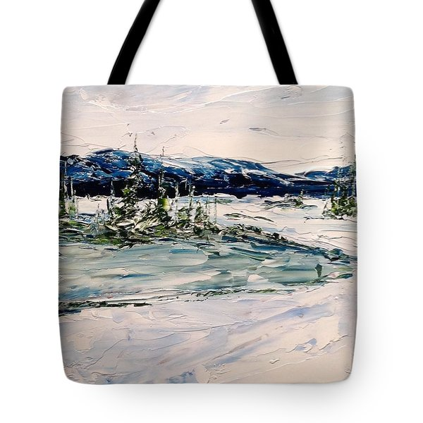 The Pond - Winter Tote Bag