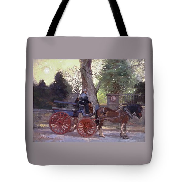 The Pony Trappe Tote Bag