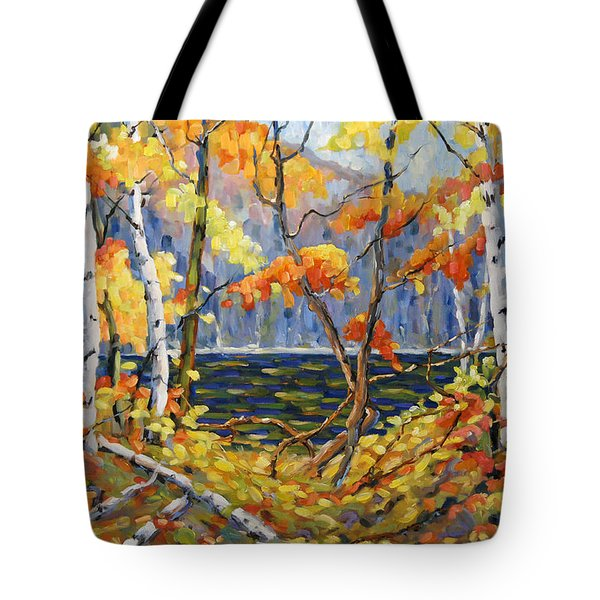 The Pool After Thompson By Prankearts Tote Bag by Richard T Pranke