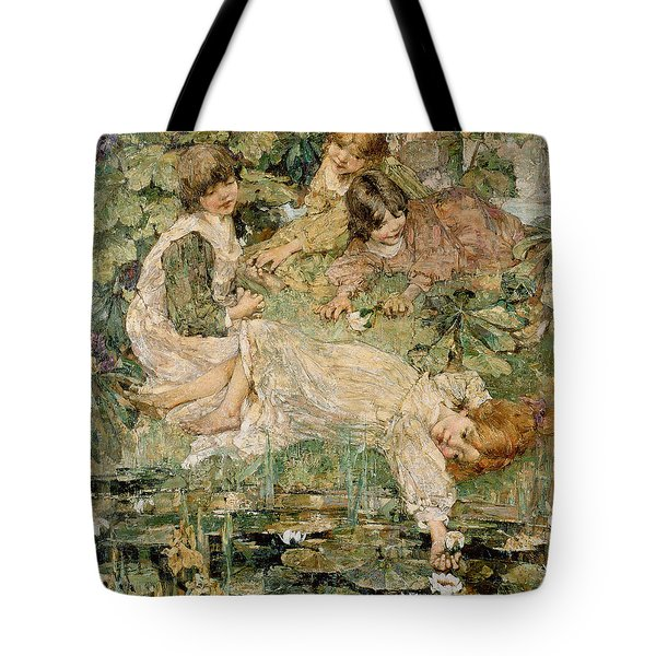 The Pool Tote Bag by Edward Atkinson Hornel