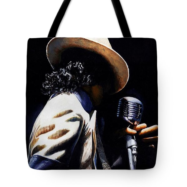 The Pop King Tote Bag by Emerico Imre Toth