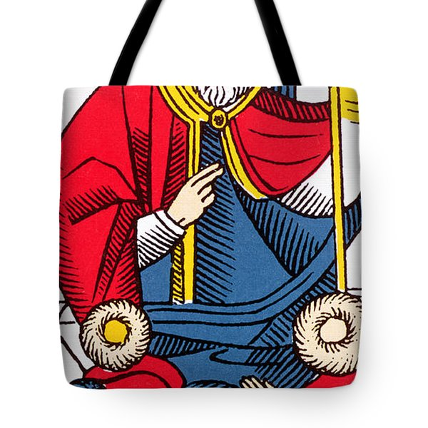 The Pope Tarot Card Tote Bag