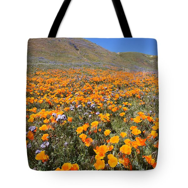 The Poppy Field Tote Bag by Scott Cunningham