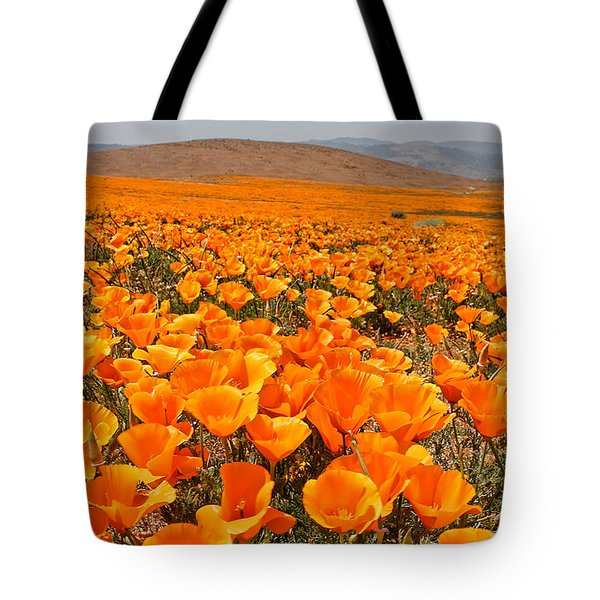 The Poppy Fields - Antelope Valley Tote Bag