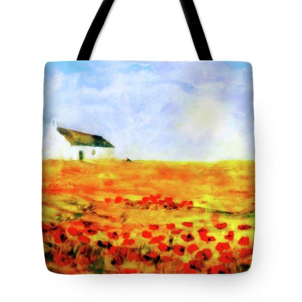 The Poppy Picker Tote Bag
