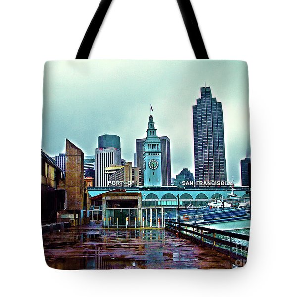 The Port Of San Francisco Tote Bag