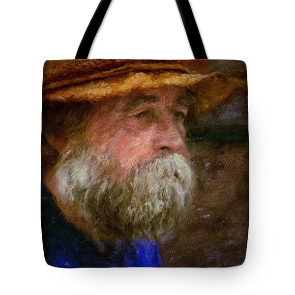 The Portrait Of A Man Tote Bag