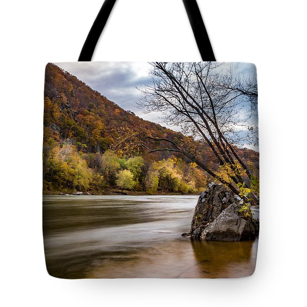 The Shenandoah In Autumn Tote Bag