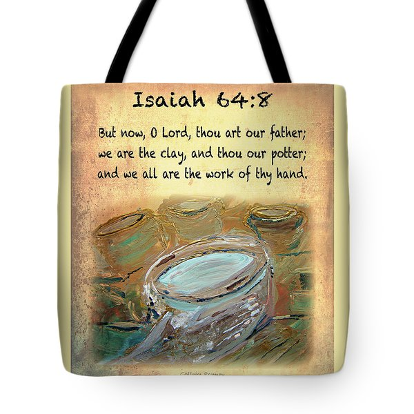 The Potter Bible Verses Tote Bag