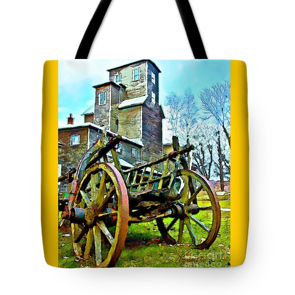 The Pottery - Bennington, Vt Tote Bag by Tom Cameron