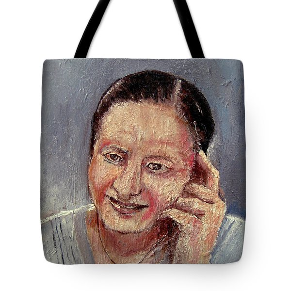 The Power Behind The Throne Tote Bag
