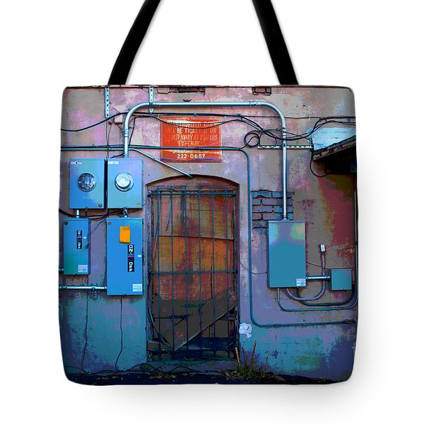 The Power Of City Tote Bag