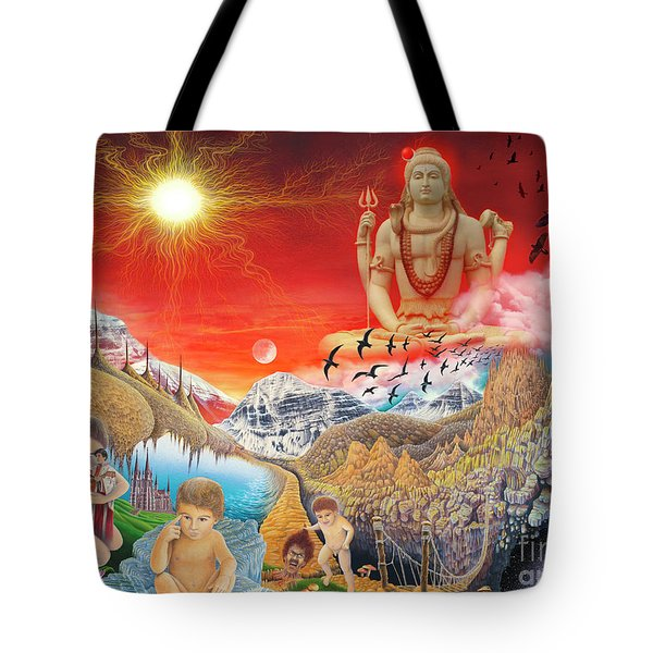 The Power Of Different Gods Tote Bag