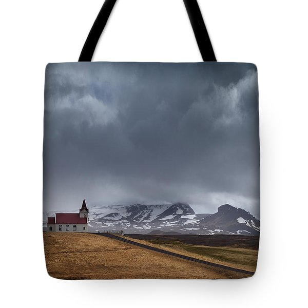 The Power Of God Tote Bag by Dominique Dubied