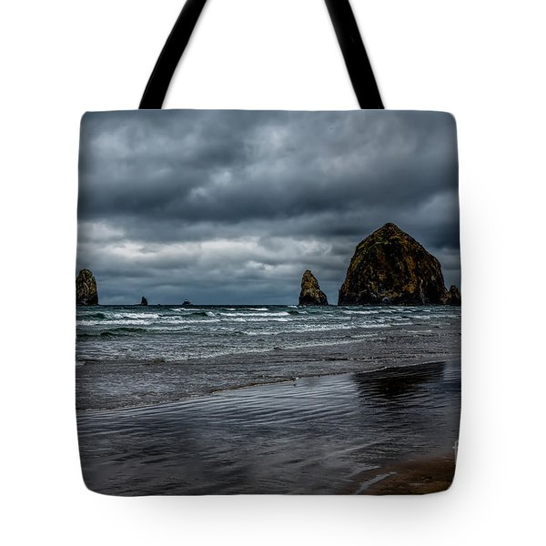 The Power Of The Sea Tote Bag by Jon Burch Photography