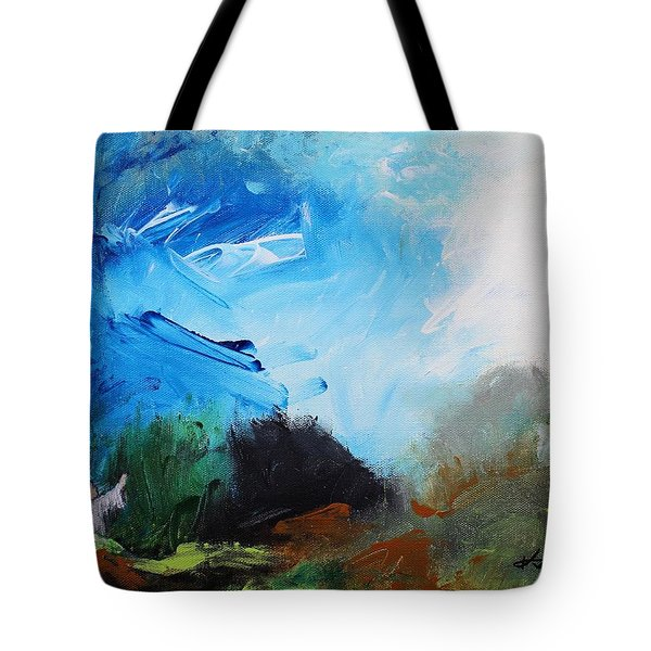 The Prayer In The Garden Tote Bag