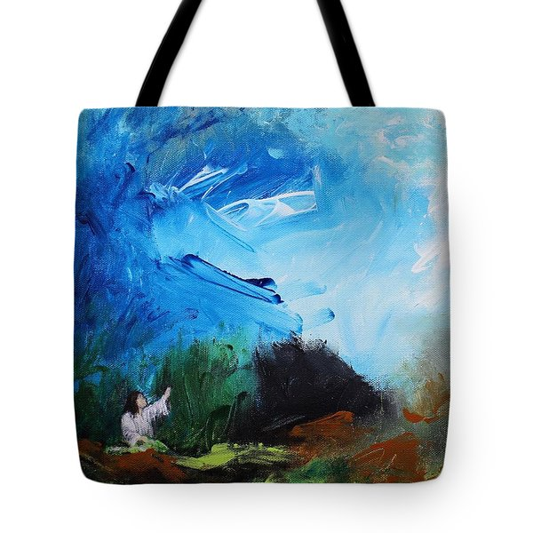 The Prayer In The Garden Tote Bag by Kume Bryant