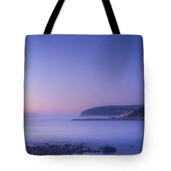 The Predawn Mist Tote Bag